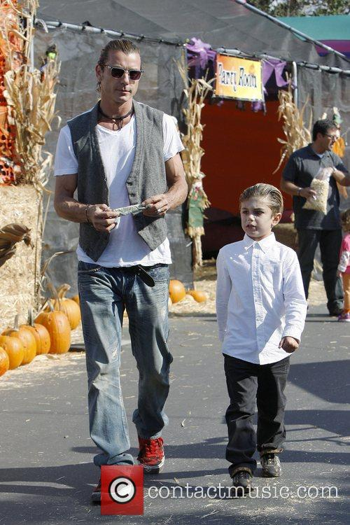 Gavin Rossdale and Kingston Rossdale 1
