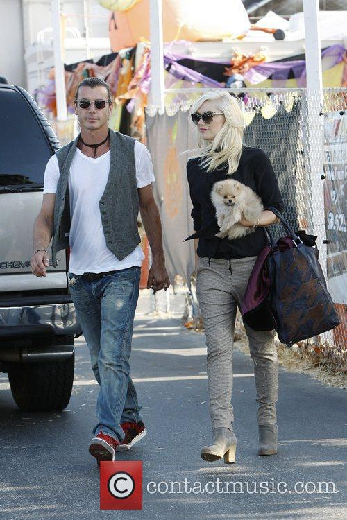 Gwen Stefani and Gavin Rossdale  At Shawn's...