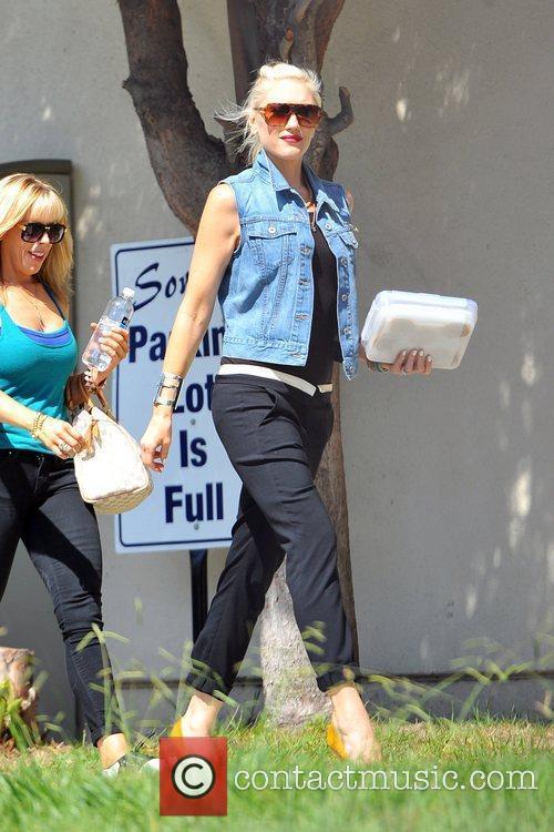 Gwen Stefani  seen heading to the No...