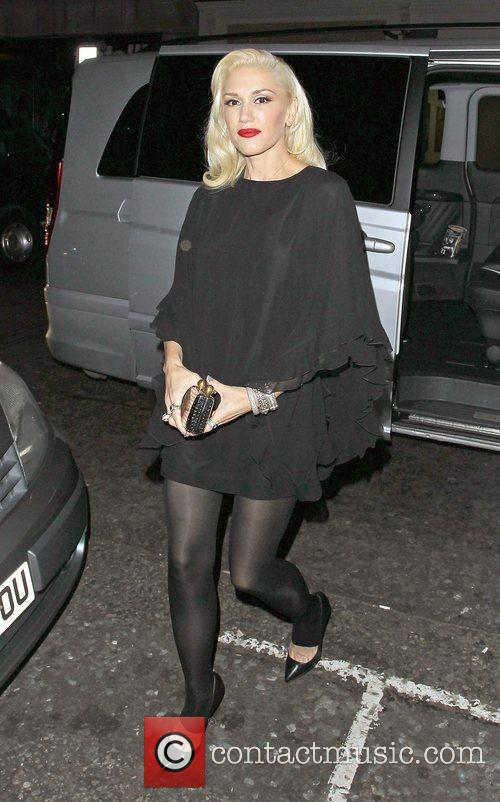 Gwen Stefani, Novikov, Mayfair. Gwen, No Doubt's, Push and Shove 4