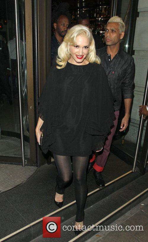 Gwen Stefani, Novikov, Mayfair. Gwen, No Doubt's, Push and Shove 5