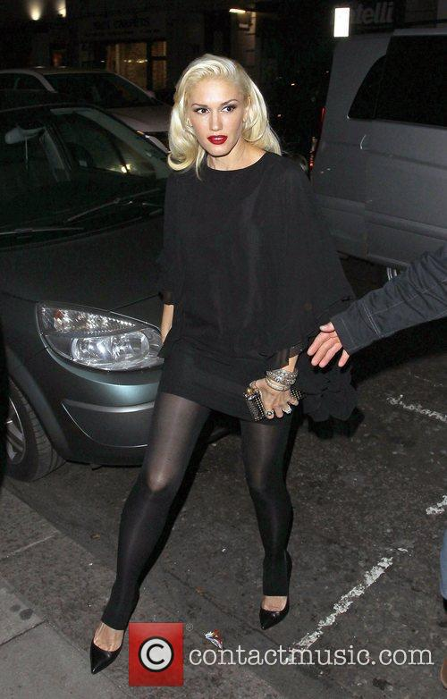 Gwen Stefani, Novikov, Mayfair. Gwen, No Doubt's, Push and Shove 7