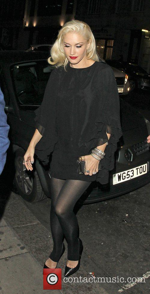 Gwen Stefani, Novikov, Mayfair. Gwen, No Doubt's, Push and Shove 6