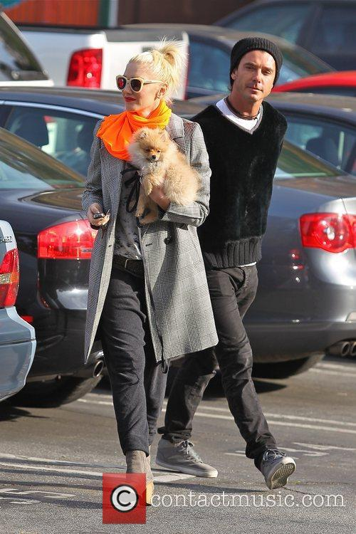Gwen Stefani, husband Gavin Rossdale and the family...