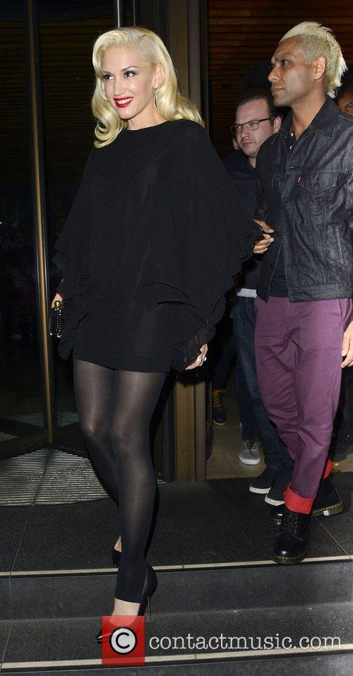 Gwen Stefani, Novikov, Mayfair. Gwen, No Doubt's, Push and Shove 8