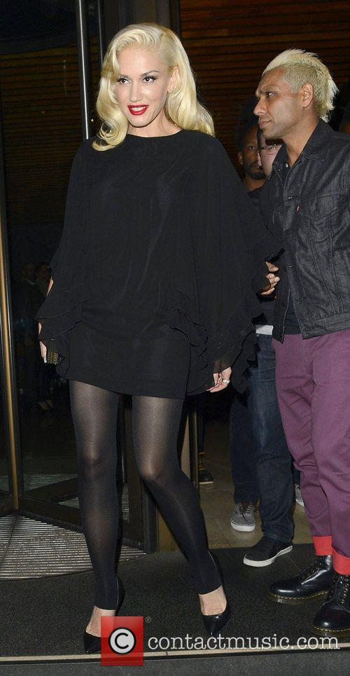 Gwen Stefani, Novikov, Mayfair. Gwen, No Doubt's, Push and Shove 12