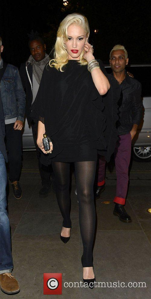 Gwen Stefani, Novikov, Mayfair. Gwen, No Doubt's, Push and Shove 9