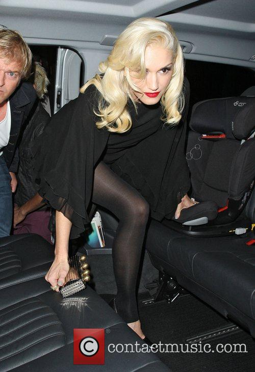 Gwen Stefani, Novikov, Mayfair. Gwen, No Doubt's, Push and Shove