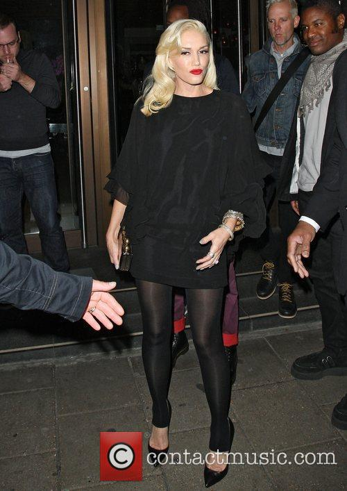 Gwen Stefani, Novikov, Mayfair. Gwen, No Doubt's, Push and Shove 16
