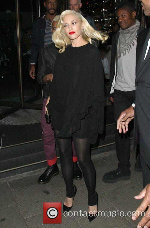 Gwen Stefani, Novikov, Mayfair. Gwen, No Doubt's, Push and Shove 13