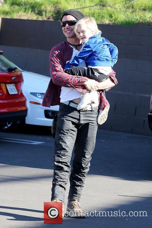 Gavin Rossdale and Zuma Rossdale 3