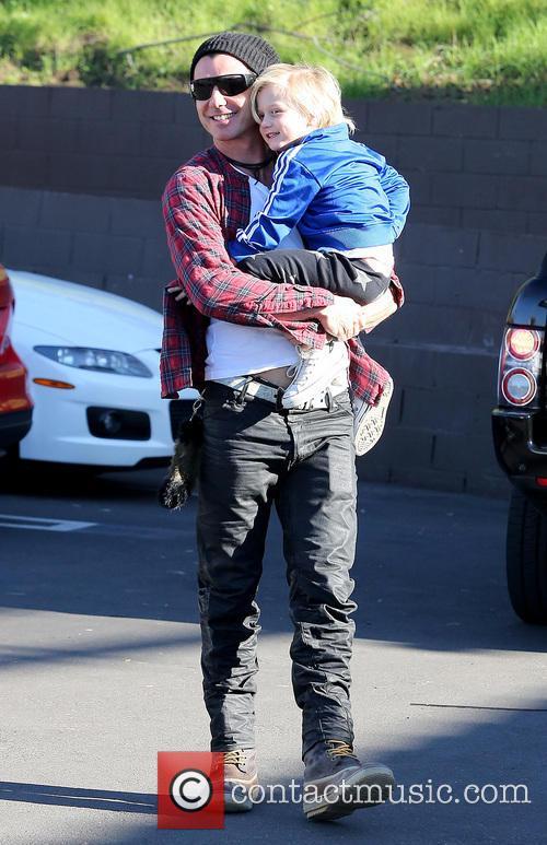 Gavin Rossdale and Zuma Rossdale 1