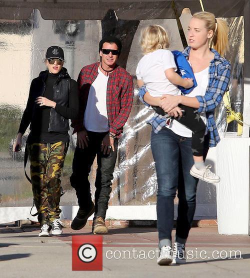 Gwen Stefani; Gavin Rossdale; Zuma Rossdale Gwen Stefani...