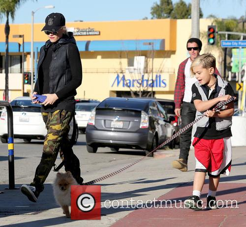Gwen Stefani, Kingston Rossdale and Gavin Rossdale 11