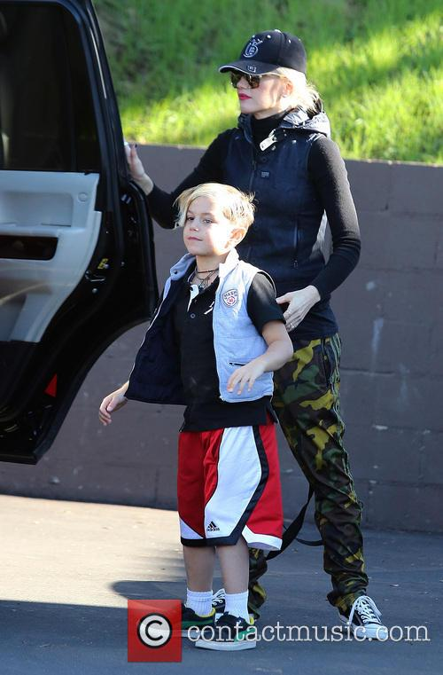 Gwen Stefani and Kingston Rossdale 2