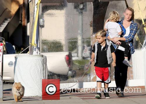 Kingston Rossdale and Zuma Rossdale 6
