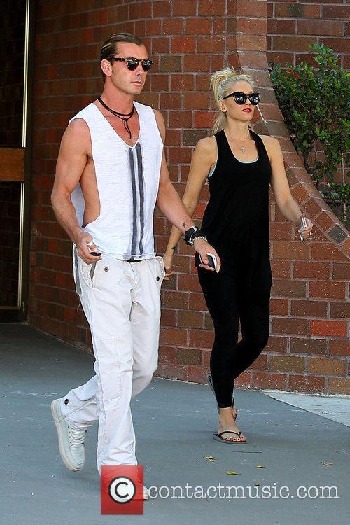 Gavin Rossdale and Gwen Stefani 4
