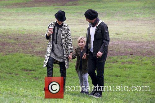 Gwen Stefani, Kingston Rossdale, Gavin Rossdale
