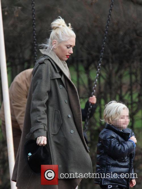 Gwen Stefani and Zuma Rossdale 11