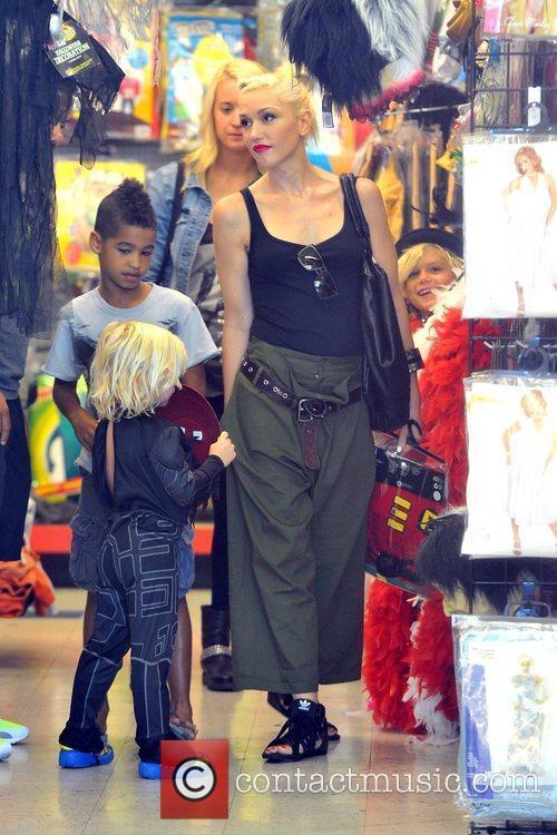Gwen Stefani,Zuma Rossdale Gwen Stefani spends the day...