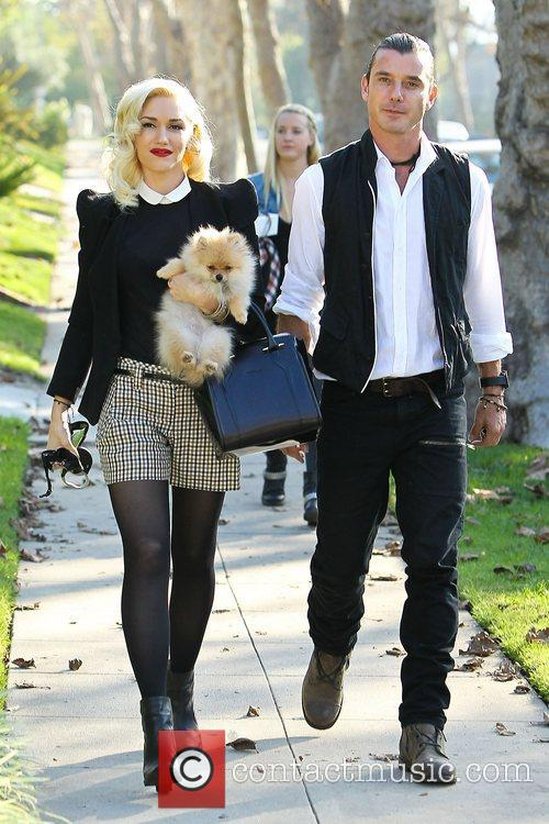Gwen Stefani, Gavin Rossdale and Thanksgiving 11