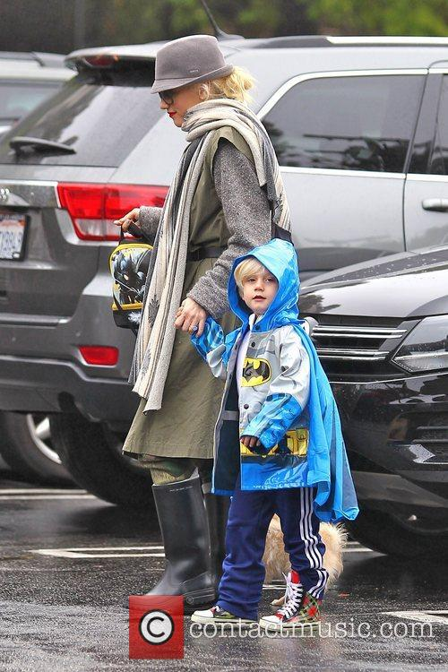 Gwen Stefani, Zuma Rossdale and Sherman Oaks 7