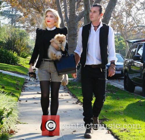 Gwen Stefani, Gavin Rossdale and Thanksgiving 4