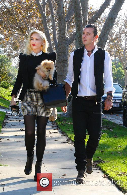 Gwen Stefani, Gavin Rossdale and Thanksgiving 1