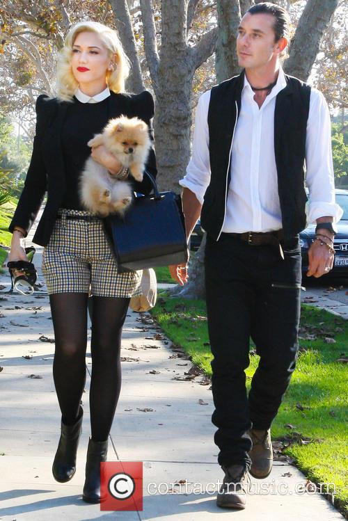 Gwen Stefani, Gavin Rossdale and Thanksgiving 3