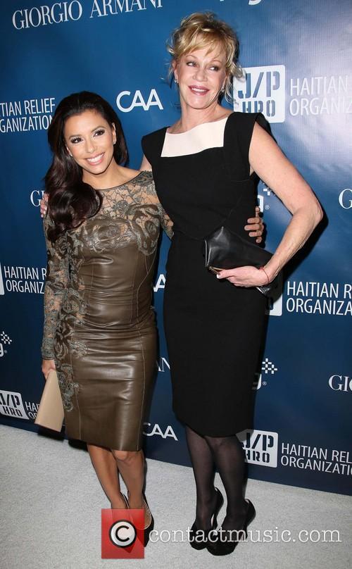 Eva Longoria and Melanie Griffith 2