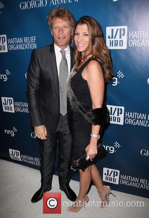 Jon Bon Jovi and Dorothea Hurley 3