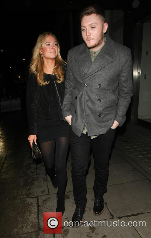 James Arthur and Kimberley Garner 3