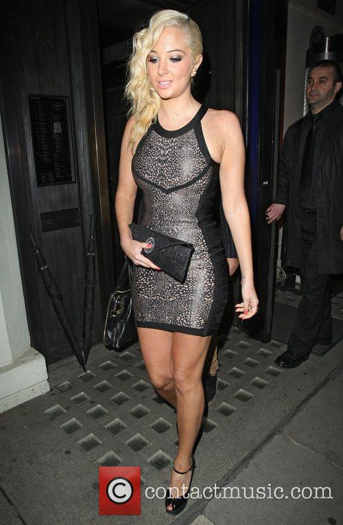 Tulisa Contostavlos, Hakkasan and Mayfair 2