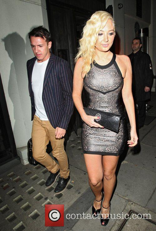 Tulisa Contostavlos, Hakkasan and Mayfair 6