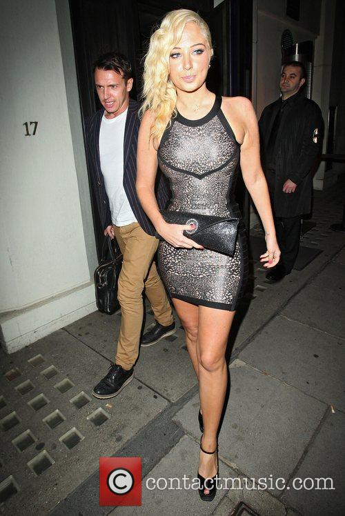 Tulisa Contostavlos, Hakkasan and Mayfair 1
