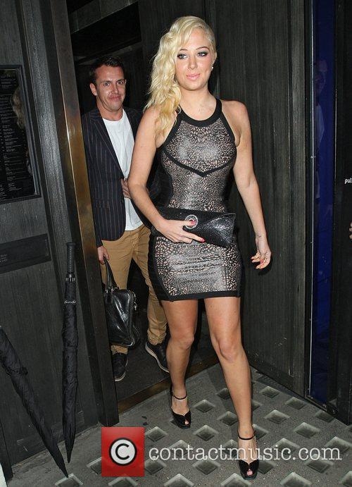 Tulisa Contostavlos, Hakkasan and Mayfair 4