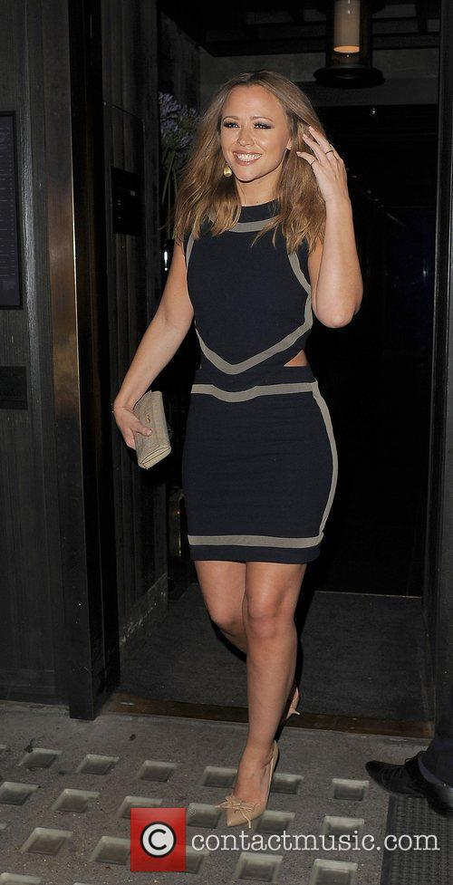 kimberley walsh leaving hakkasan restaurant london england   180612 3950294