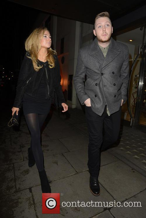 James Arthur and Kimberley Garner 1