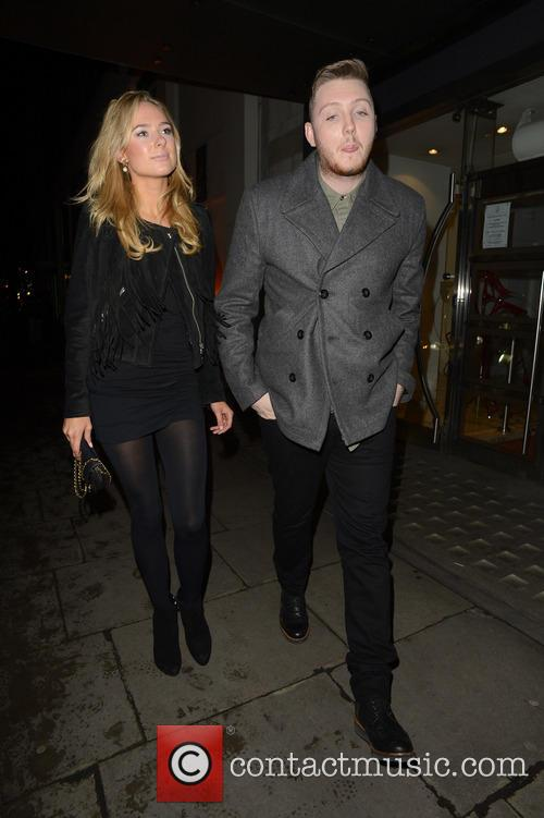 James Arthur and Kimberley Garner 7
