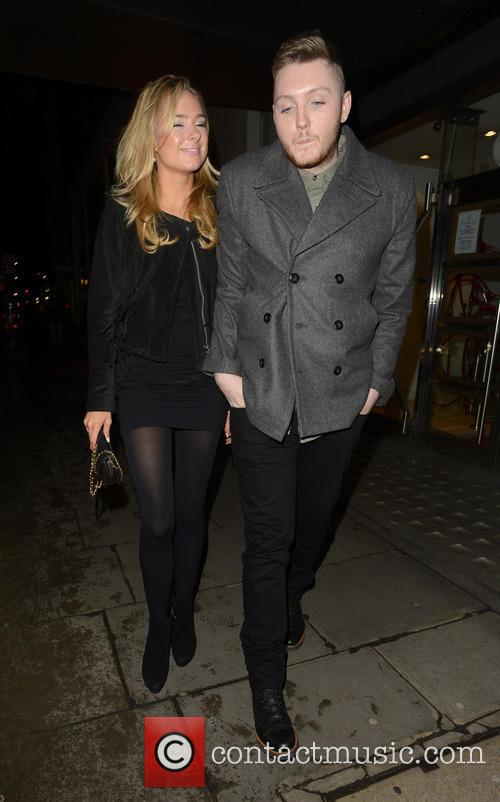 James Arthur and Kimberley Garner 6