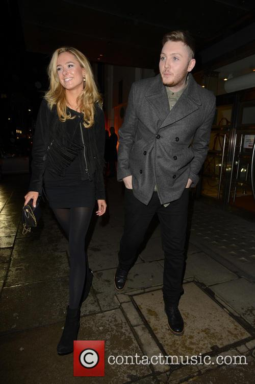 James Arthur and Kimberley Garner 5