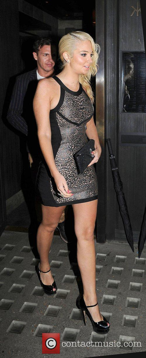 Tulisa Contostavlos, Hakkasan and Mayfair 8