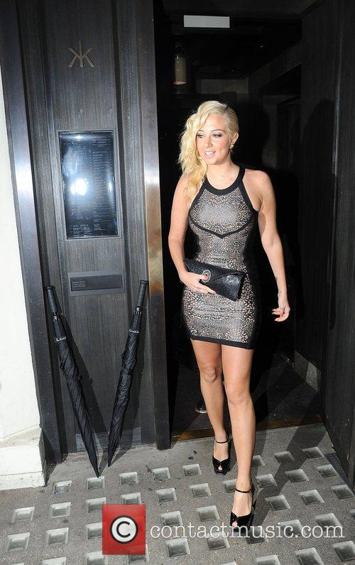 Tulisa Contostavlos, Hakkasan and Mayfair 10