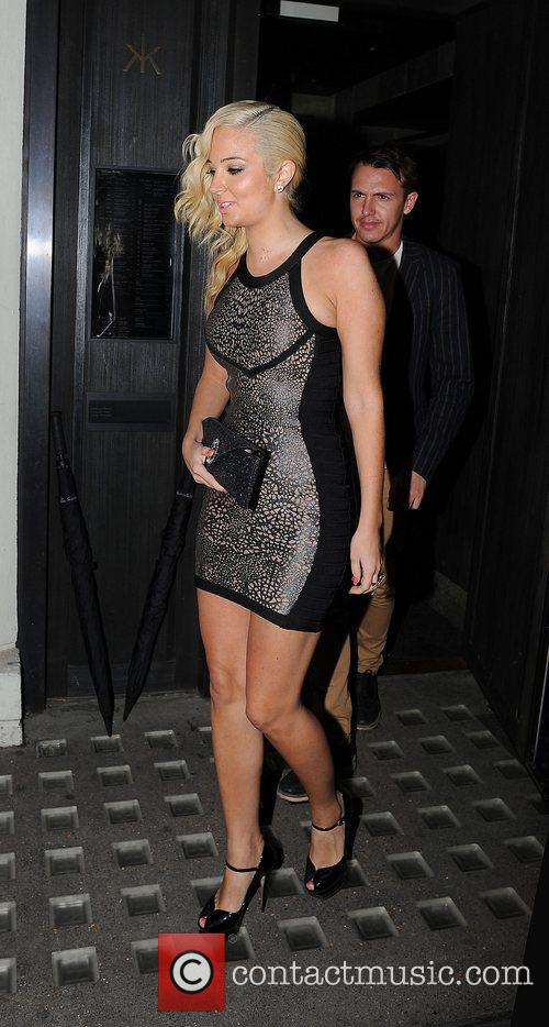 Tulisa Contostavlos, Hakkasan and Mayfair 14