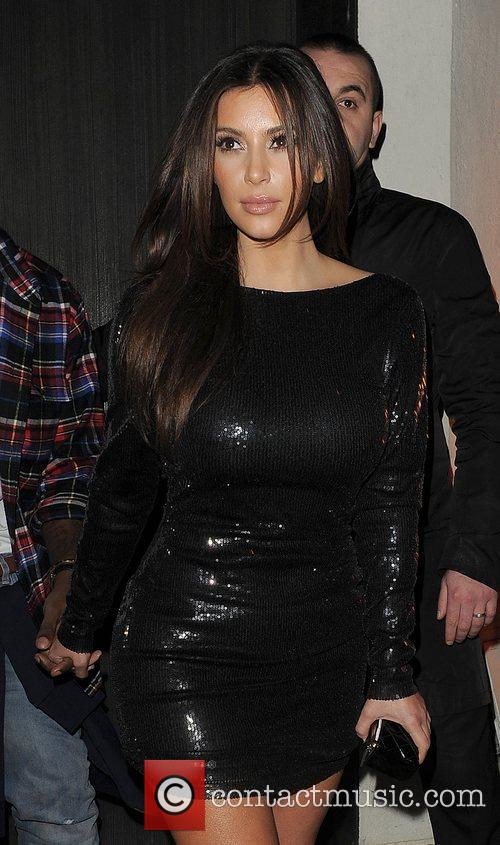 Kim Kardashian, Hakkasan and Kanye West 24