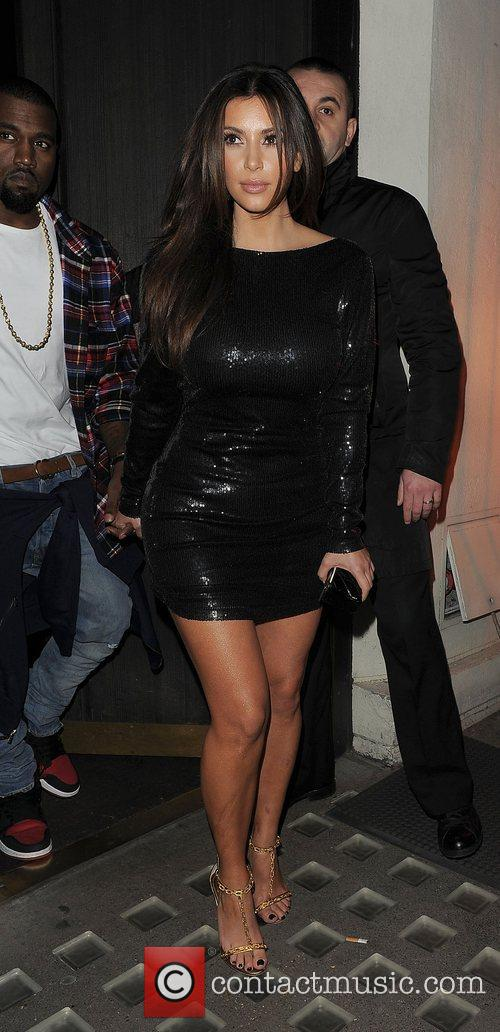 Kim Kardashian, Hakkasan and Kanye West 22