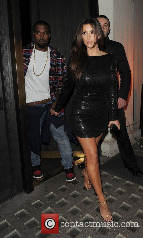 Kim Kardashian, Hakkasan and Kanye West 7