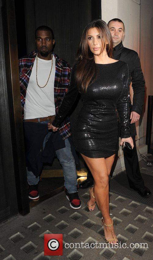 Kim Kardashian, Hakkasan and Kanye West 10