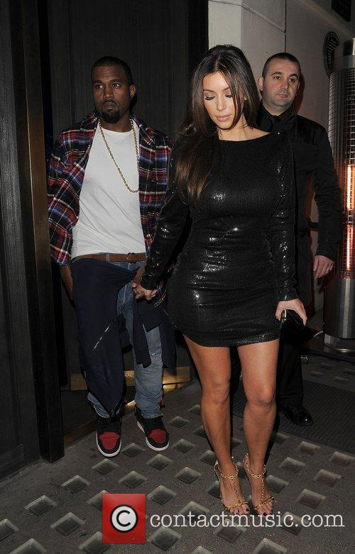 Kim Kardashian, Hakkasan and Kanye West 18
