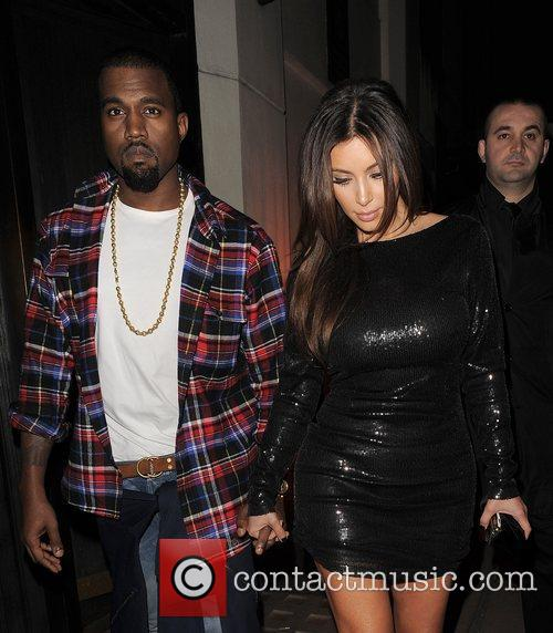Kim Kardashian, Hakkasan and Kanye West 20